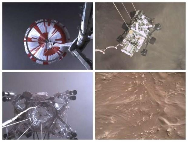 NASA cong bo anh chup toan canh mot so khu vuc tren Sao Hoa hinh anh 1