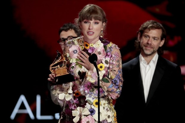 Taylor Swift thang giai 'Album cua nam,' Beyonce ghi dau moc lich su hinh anh 1