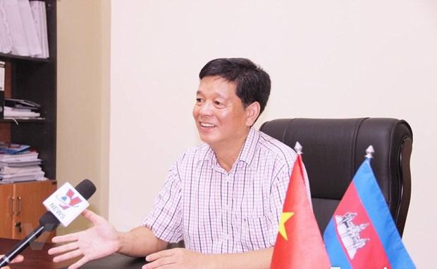 Campuchia: Chung tay cuu tro ba con goc Viet dang cach ly o Kandal hinh anh 1