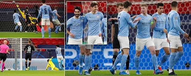 Real Madrid, Man City gianh ve vao tu ket Champions League hinh anh 1