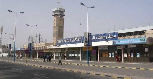 Yemen: Houthi tuyen bo dong cua san bay quoc te Sanaa hinh anh 1
