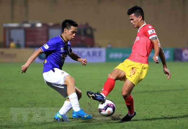 Vong 8 V-League 2021: Ha Noi gap kho, co hoi lon cho SHB Da Nang hinh anh 1