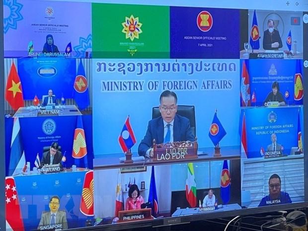 ASEAN quan ngai ve van de Bien Dong va tinh hinh Myanmar hinh anh 1