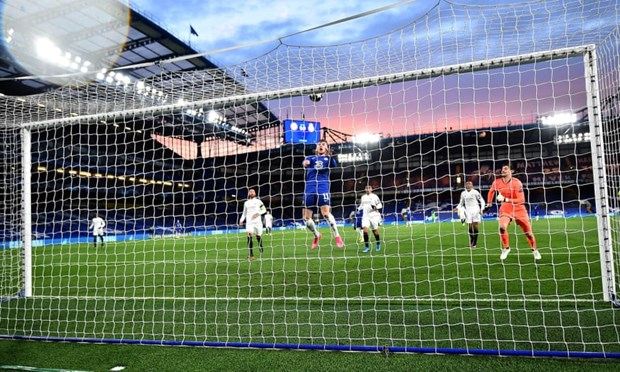 Ha Real Madrid, Chelsea doi dau Man City o chung ket Champions League hinh anh 1