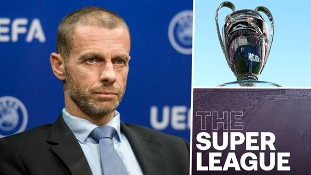UEFA chinh thuc cong bo an phat doi bong thanh lap Super League hinh anh 1