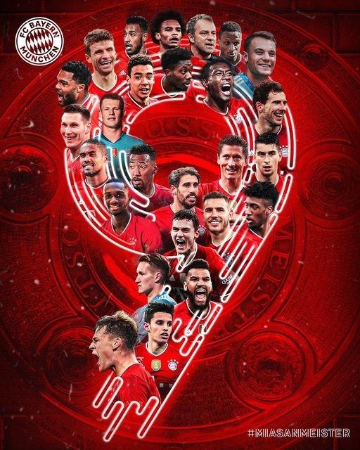 Bayern Munich lan thu 9 lien tiep len ngoi tai Bundesliga hinh anh 1