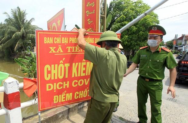 Thua Thien-Hue, Hai Phong tang cuong phong dich sau khi co ca mac hinh anh 2