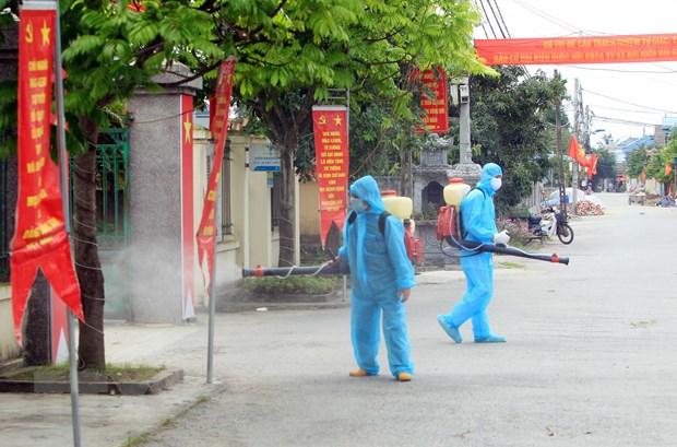 Thua Thien-Hue, Hai Phong tang cuong phong dich sau khi co ca mac hinh anh 1
