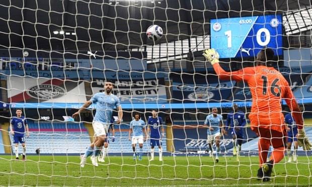Thua nguoc Chelsea, Man City chua the som vo dich Premier League hinh anh 1