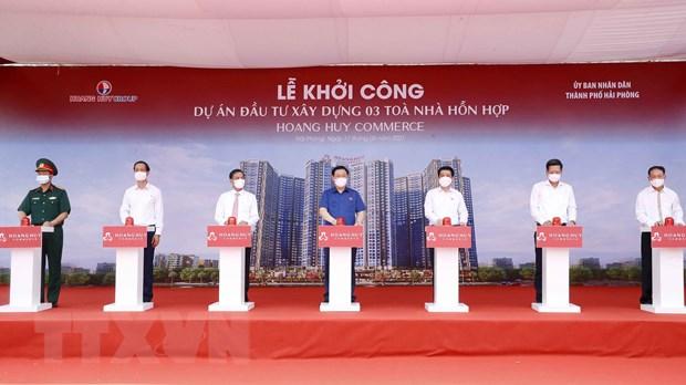 Chu tich Quoc hoi Vuong Dinh Hue lam viec voi Thanh uy Hai Phong hinh anh 3