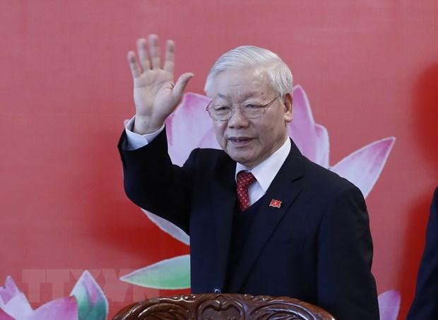 Bai viet cua Tong Bi thu Nguyen Phu Trong ve con duong di len CNXH hinh anh 1