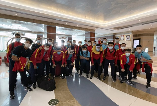 Tuyen futsal Viet Nam da toi UAE de da play-off tranh ve du World Cup hinh anh 1