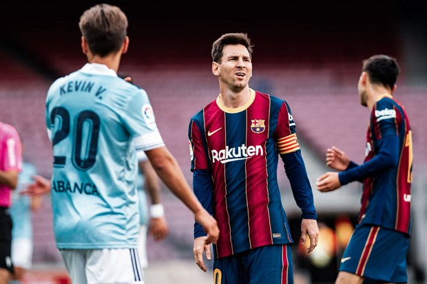 La Liga: Barcelona dau hang, Atletico cham tay vao chuc vo dich hinh anh 1