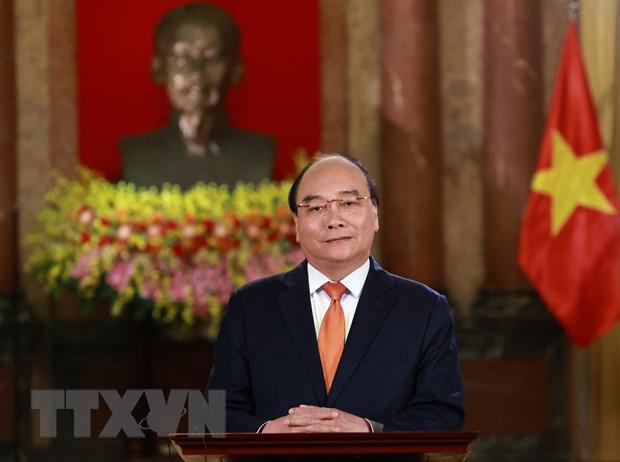 Chu tich nuoc Nguyen Xuan Phuc gui thu den Tong thong Hoa Ky Joe Biden hinh anh 1
