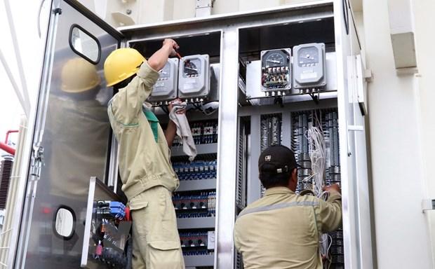 Dong dien du an nang cong suat tram bien ap 220 kV Son Ha hinh anh 1