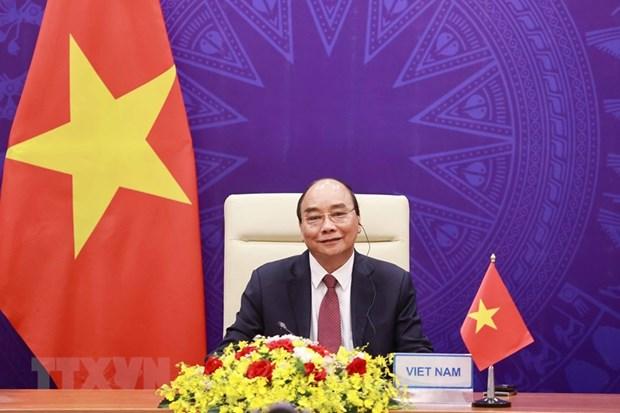 Tong thong Hoa Ky gui thu cam on Chu tich nuoc Nguyen Xuan Phuc hinh anh 1