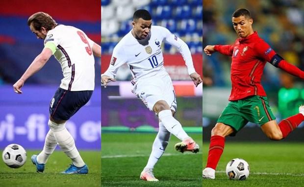 EURO 2020: Cuoc dua cua cac doi tuyen va cac chan sut hinh anh 2
