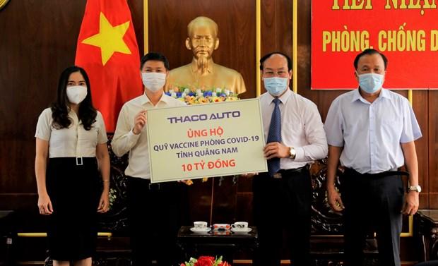 Quang Nam: Huy dong gan 22 ty dong phong, chong dai dich COVID-19 hinh anh 1