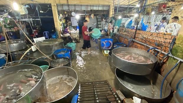 An Giang: Xu phat doanh nghiep 370 trieu dong vi xa thai khong phep hinh anh 1