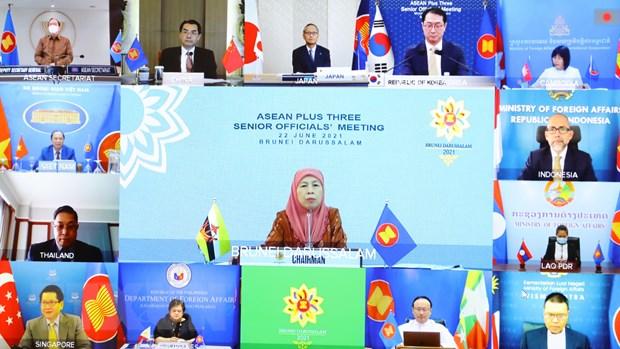 SOM ASEAN+3: Nghien cuu, phat trien vaccine COVID-19 an toan, hieu qua hinh anh 2
