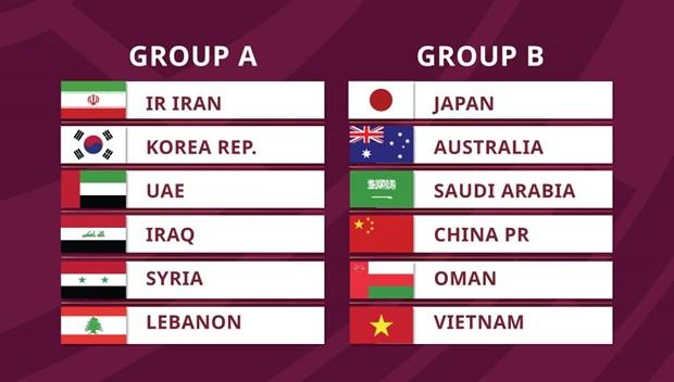 Vong loai thu 3 World Cup: Viet Nam cung bang voi Trung Quoc, Nhat Ban hinh anh 1