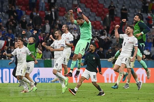 Ket qua EURO 2020: Italy dai chien Tay Ban Nha o ban ket hinh anh 1