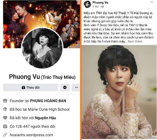 MC Trac Thuy Mieu bi phat 7,5 trieu dong vi phat ngon gay kich dong hinh anh 1