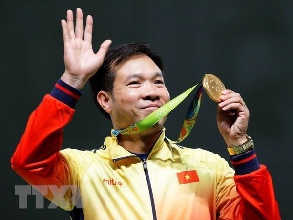 Lich thi dau Olympic Tokyo 2020: Nha vo dich Hoang Xuan Vinh xuat tran hinh anh 1