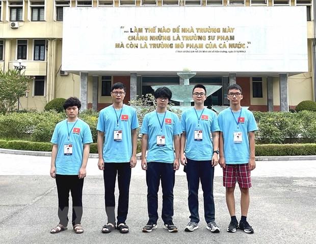 Hoc sinh Viet Nam gianh 3 HCV, 2 HCB tai Olympic Vat ly 2021 hinh anh 1