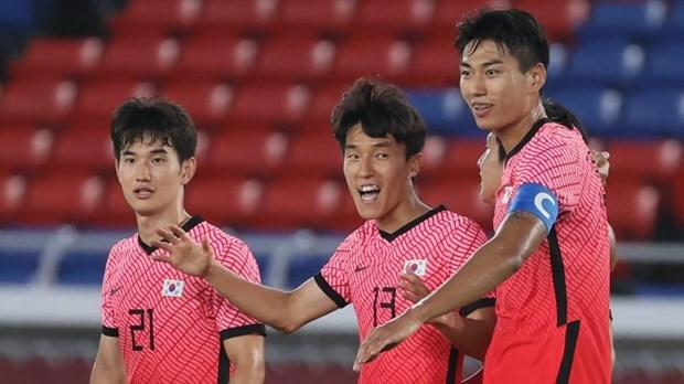 Bong da nam Olympic 2020: U23 Duc bi loai, U23 Han Quoc thang dam hinh anh 2