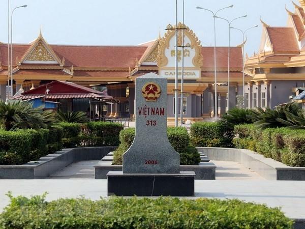 Viet Nam va Campuchia trao doi ve cong tac bien gioi tren dat lien hinh anh 1