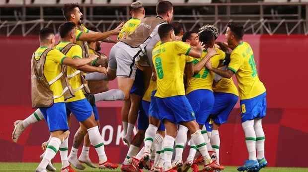 U23 Tay Ban Nha doi dau U23 Brazil o chung ket bong da nam Olympic hinh anh 2