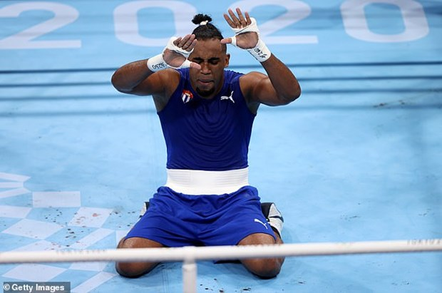 Olympic Tokyo 2020: Cuba khang dinh vi the cuong quoc quyen anh hinh anh 1