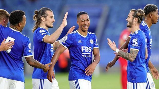 Leicester va Man City chay da thuan loi cho tran Sieu cup Anh hinh anh 1