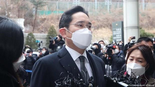 Han Quoc: 'Nguoi thua ke' tap doan Samsung Lee Jae-yong duoc an xa hinh anh 1