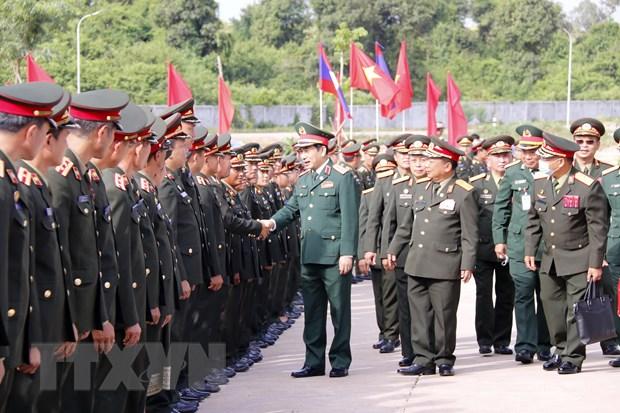 Bo Quoc phong Viet Nam va Lao tang cuong hop tac hinh anh 1
