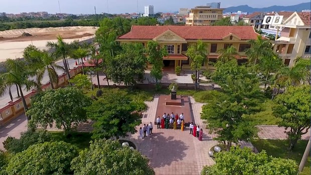 Quang Binh: Rang danh ngoi truong mang ten Dai tuong Vo Nguyen Giap hinh anh 1