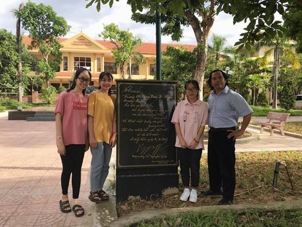 Quang Binh: Rang danh ngoi truong mang ten Dai tuong Vo Nguyen Giap hinh anh 2
