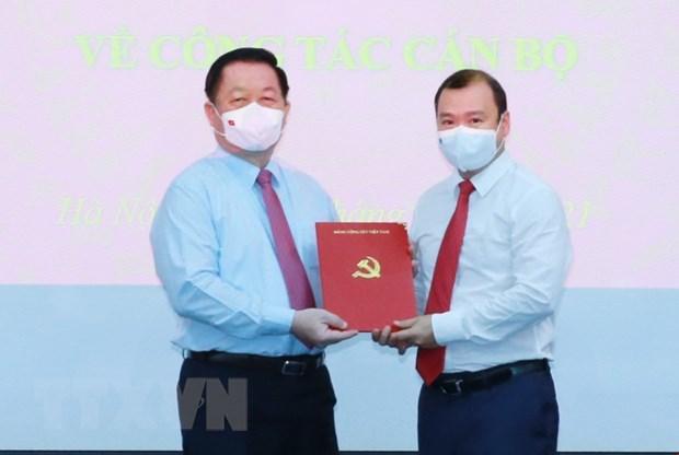 Ong Le Hai Binh giu chuc Pho Truong ban Tuyen giao Trung uong hinh anh 1