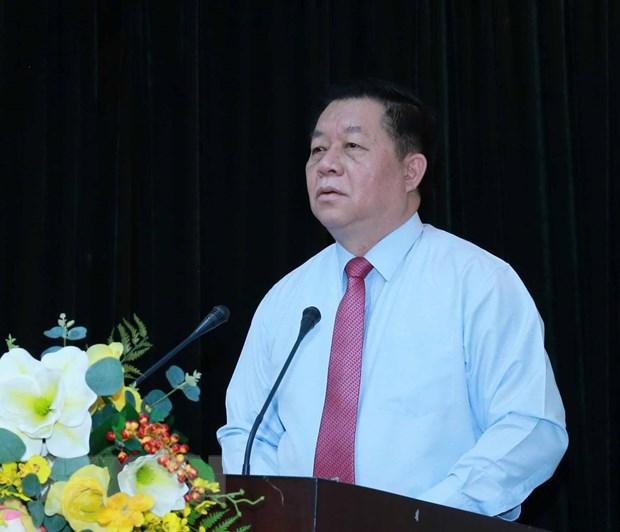 Ong Le Hai Binh giu chuc Pho Truong ban Tuyen giao Trung uong hinh anh 2