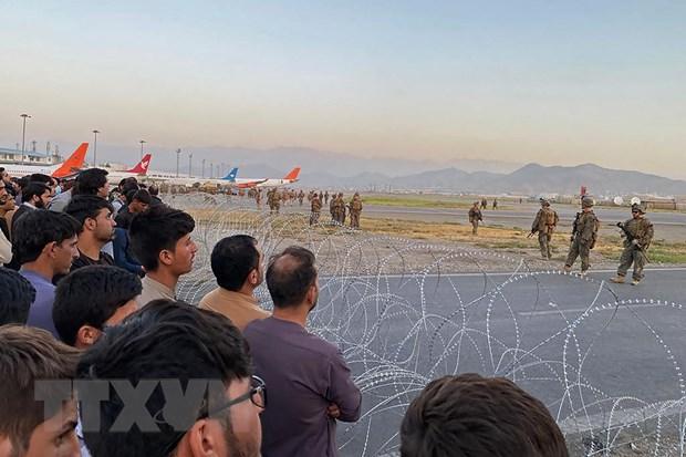 Tinh hinh Afghanistan: Tang cuong hoat dong so tan tai san bay Kabul hinh anh 2