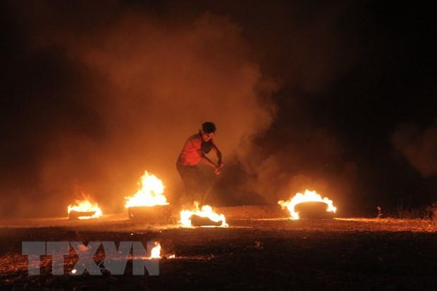Cang thang gia tang tai khu vuc bien gioi Israel va Dai Gaza hinh anh 1