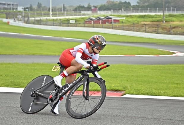 Paralympic Tokyo: Nu cuaro di vao lich su voi tam HCV o tuoi 50 hinh anh 1