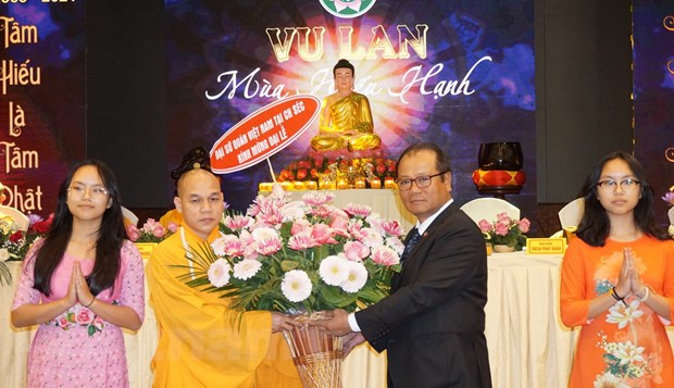Tiep noi dao nghia tri an cua nguoi Viet trong Dai le Vu Lan tai Sec hinh anh 1