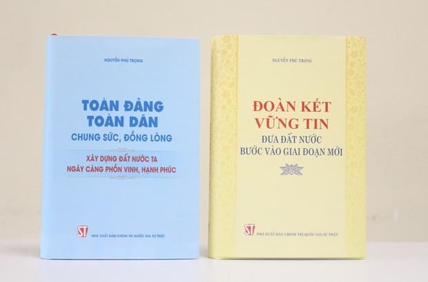 Gioi thieu hai cuon sach cua Tong Bi thu Nguyen Phu Trong hinh anh 1