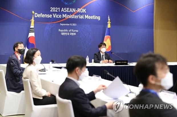 ASEAN-Han Quoc nhat tri tang cuong hop tac quoc phong hinh anh 1