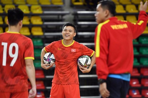 Lich thi dau cua tuyen Viet Nam tai VCK FIFA Futsal World Cup 2021 hinh anh 1