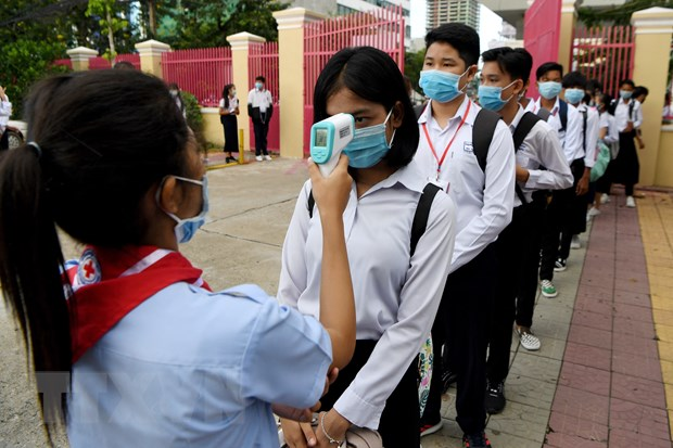 Campuchia: Phnom Penh mo cua tro lai cac truong trung hoc tu ngay 15/9 hinh anh 1