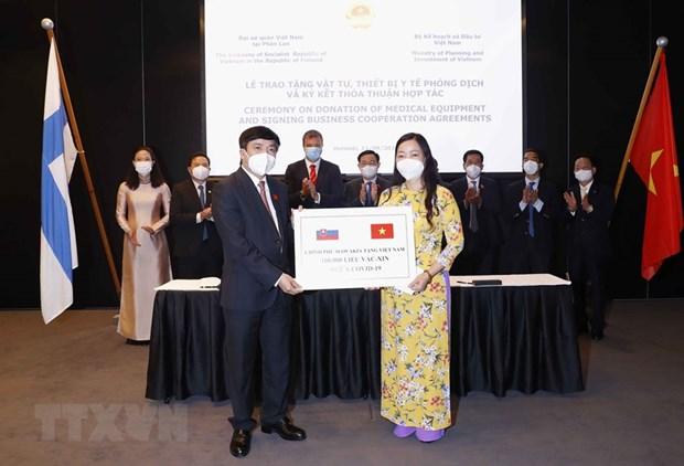 Chinh phu Slovakia tang Viet Nam 100.000 lieu vaccine cua Astrazeneca hinh anh 1