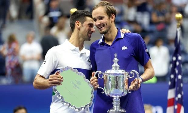 Danh bai Djokovic, Daniil Medvedev dang quang tai US Open 2021 hinh anh 2